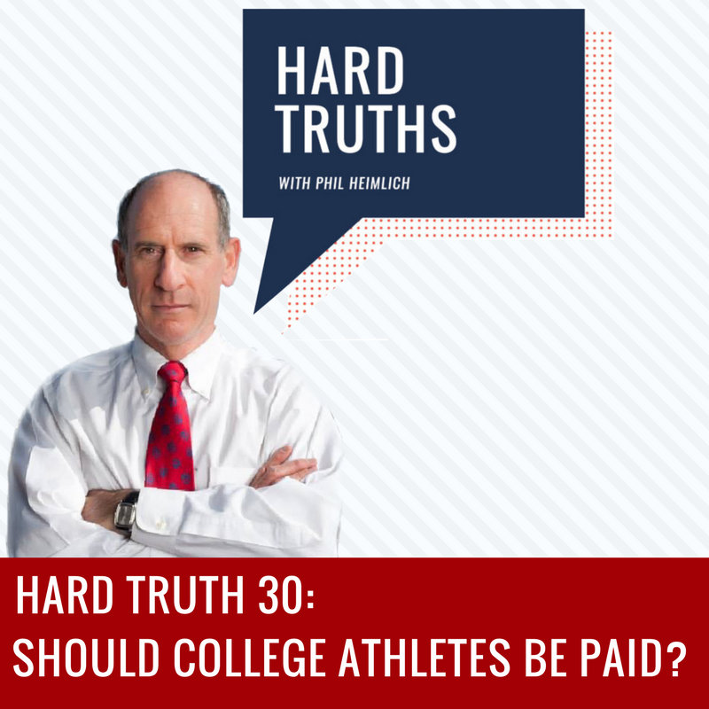 Should college athletes be paid-