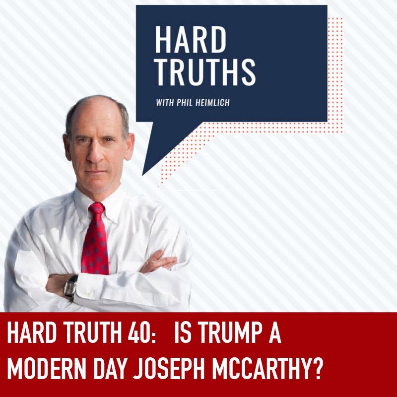 Is Trump a Modern Day Joseph McCarthy?